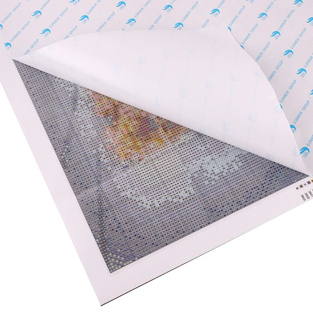 Zdmathe 30x30 Diy 5d Diamant Malerei Set Tier Elefant Diamond