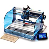 SainSmart Genmitsu CNC Router Machine 3018-PROVer with GRBL Offline Control, Limit Switches & Emergency-Stop, XYZ Working Are