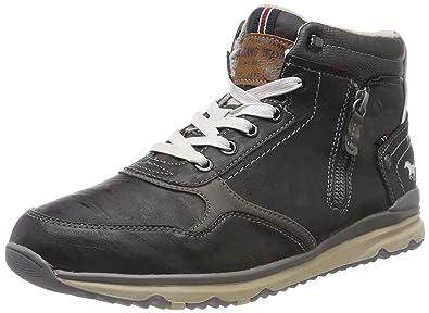 Herren Top Hohe High Sneaker Mustang BrCexWdo