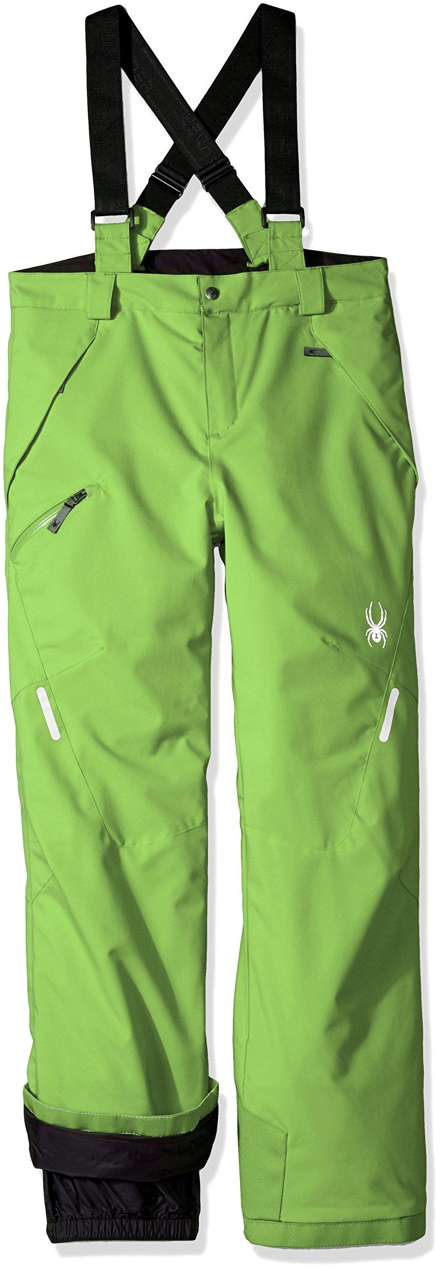 Spyder Boy's Propulsion Ski Pant, Fresh, Size 18 by Spyder (Image #1)