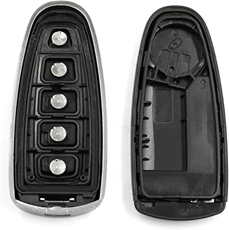 No Electronic 2 New Red Keyless Entry 3 Button Key Fob Remote M3N5WY783X IYZ-C01C 56046707AE For Chrysler Town Country Dodge Challenger Charger Durango Grand Caravan Journey /& Ram SHELL//CASE ONLY