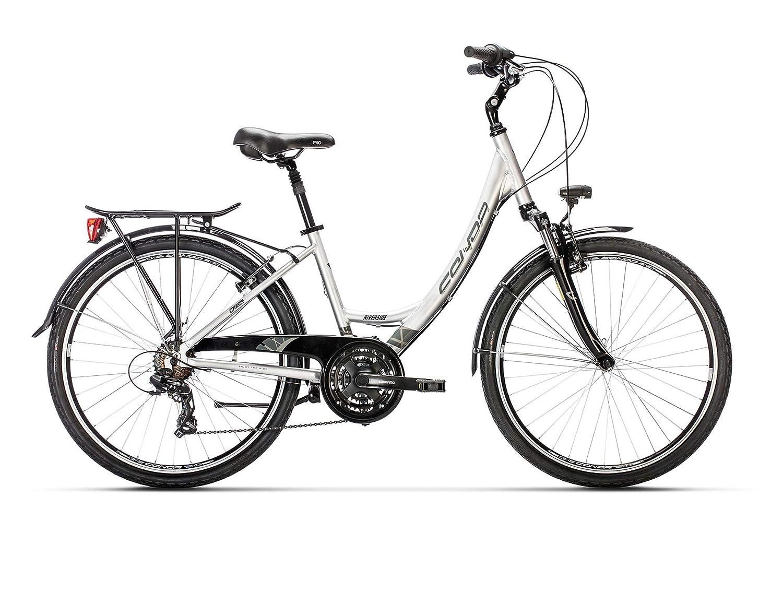 Conor Riverside Bicicleta Ciclismo Mujer, Blanco/Gris: Amazon.es ...