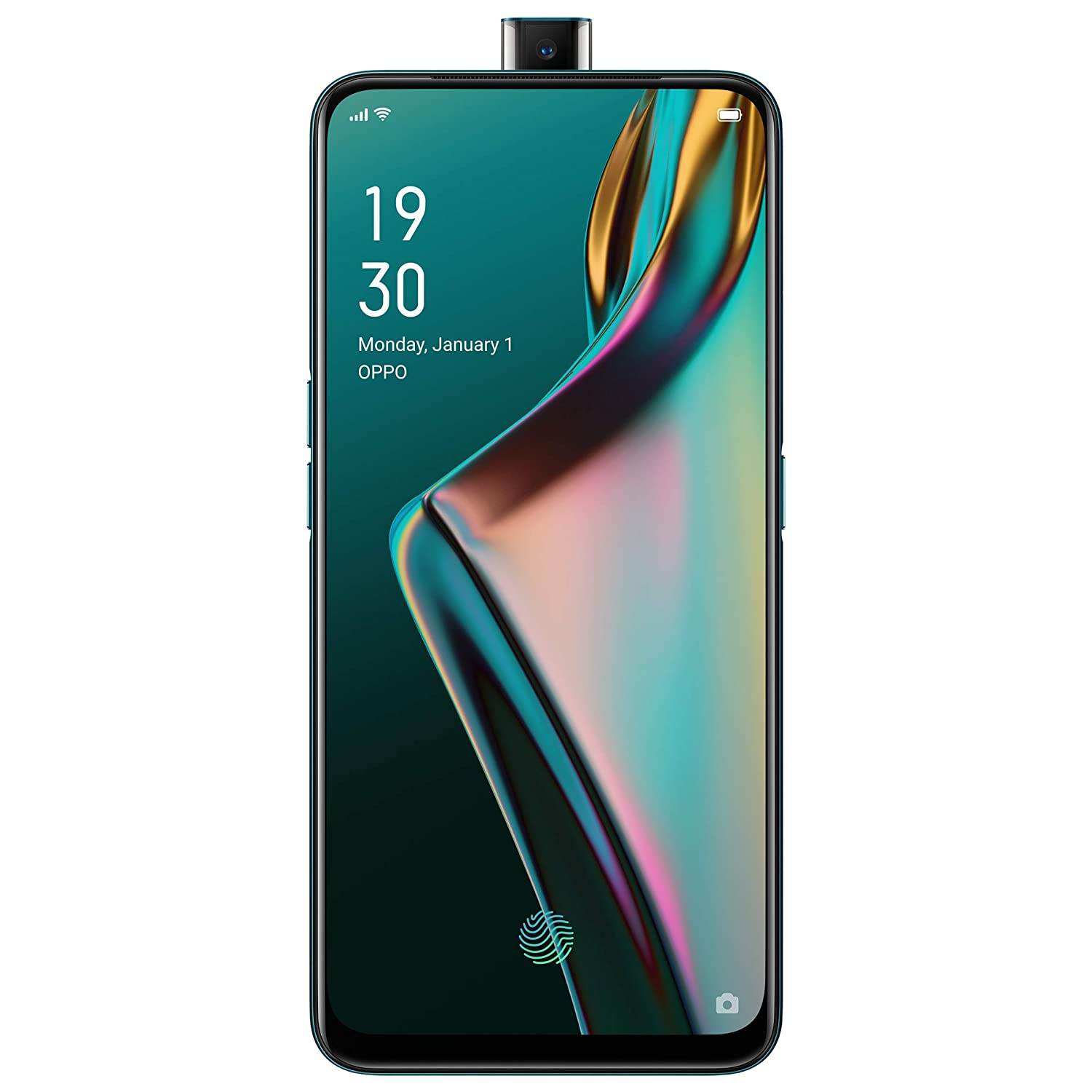 OPPO K3(Jade Black, 6GB RAM, AMOLED Display, 64GB Storage, 3765mAH Battery)