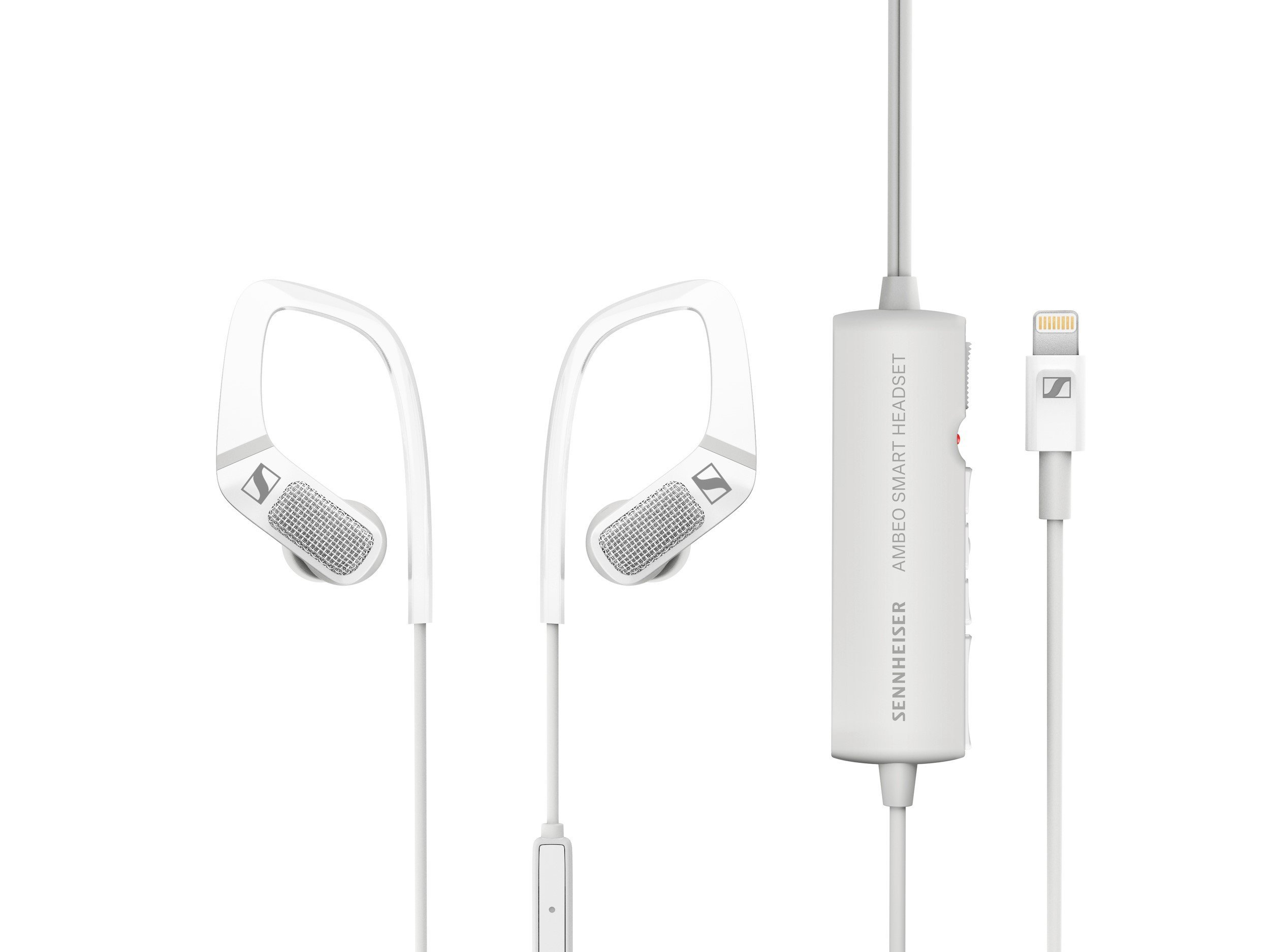 Sennheiser AMBEO Smart Headset Binaural Recording Ear Canal Headphones by Sennheiser