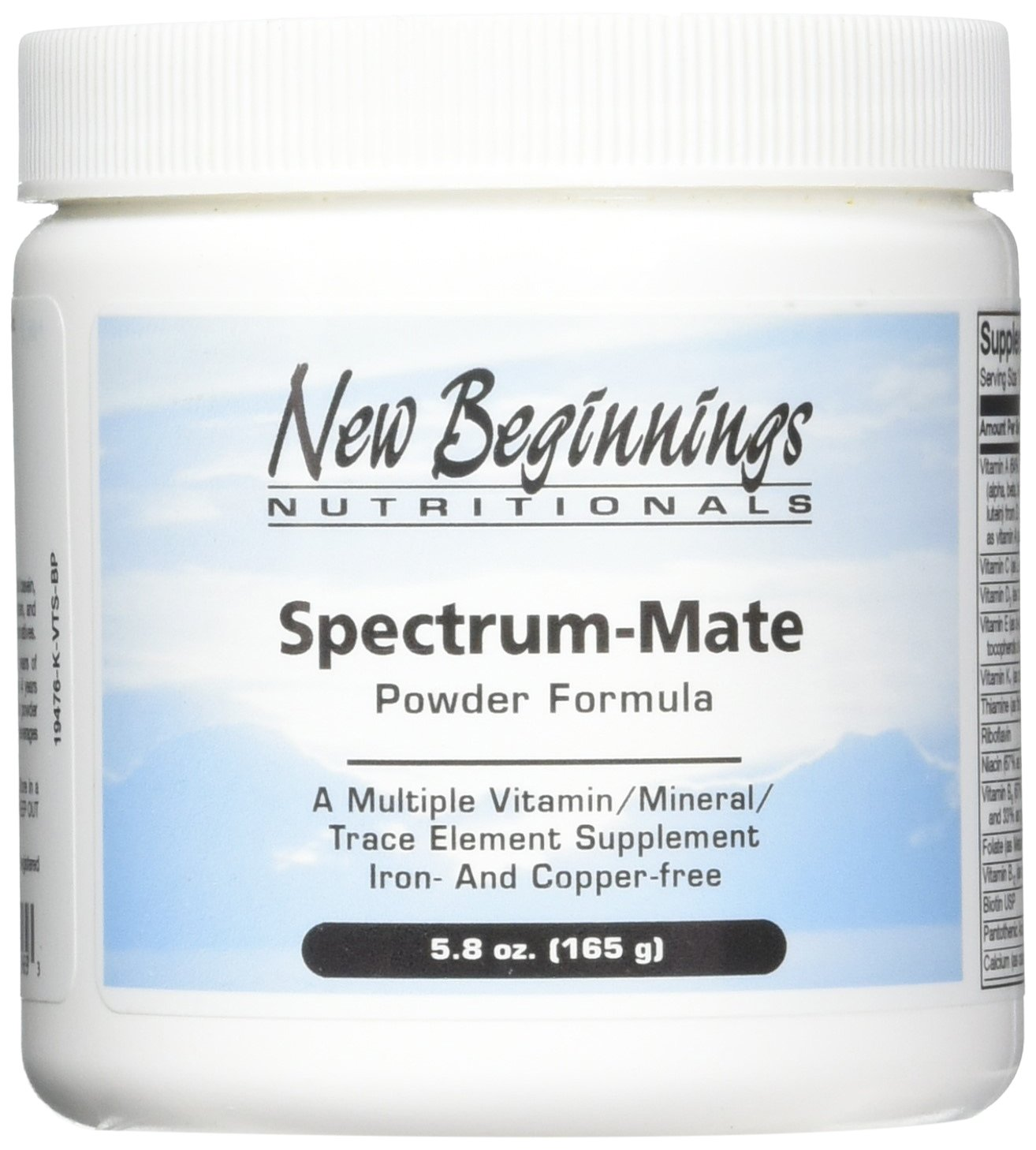 Spectrum-Mate - powder 5.8oz