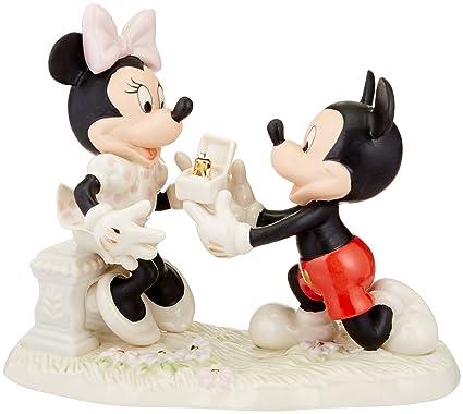 e14b61ae3fbd Amazon.com  Lenox Minnie s Dream Proposal Figurine  Home   Kitchen