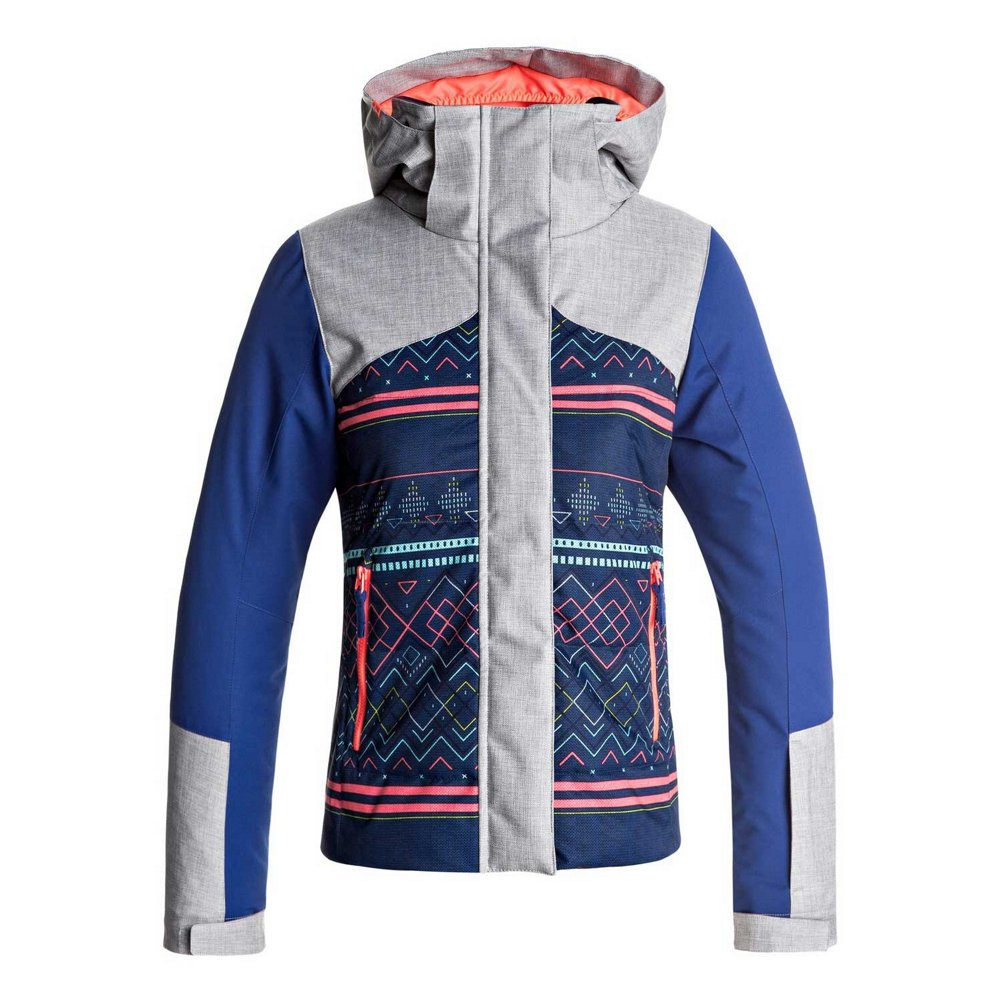 Roxy Big Flicker Girl Snow Jacket, Sodalite