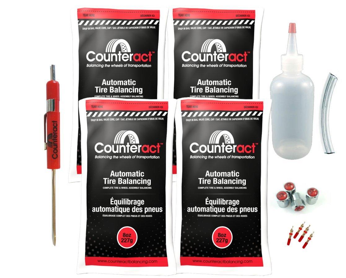 DIYK-8 Counteract Tire Balancing Beads Light Truck/Off-Road - 8oz DIY Kit (32oz) by Counteract