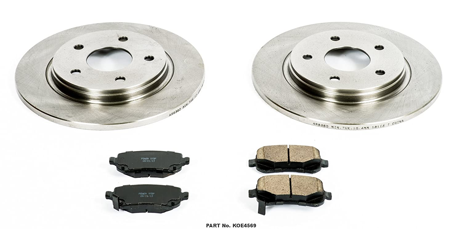 Autospecialty KOE4569 1-Click OE Replacement Brake Kit
