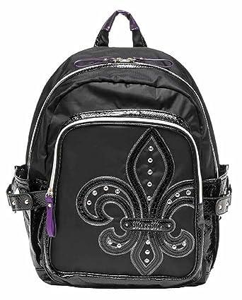 705f5859aeec Miss Me Audrey Nylon Backpack (Black)