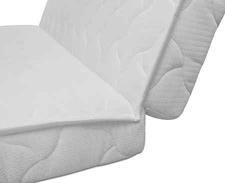 Baldiflex - colchón para Sofá Cama Brio Pronto letto, Corte Sobre Asiento, ortopédico, ergonómico, hipoalergénico, 150 x 190 x 10 cm: Amazon.es: Hogar