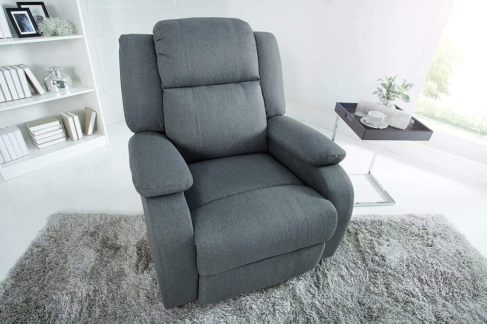 TV Quality Recliner Chair Modern Fashion with a Folding Footboard Filler and Practical Features Recliner,Grey