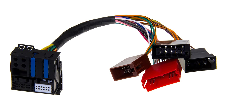 c/âble Plug /& Play ISO QUADLOCK RNS-E NAVIGATION fiches FAKRA
