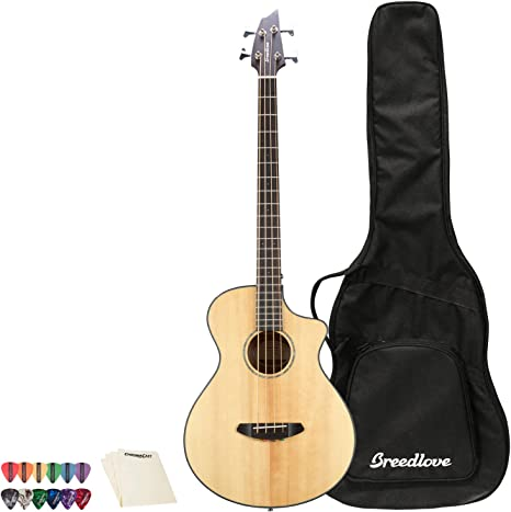 Breedlove Pursuit Concert - Guitarra acústica eléctrica de 12 ...