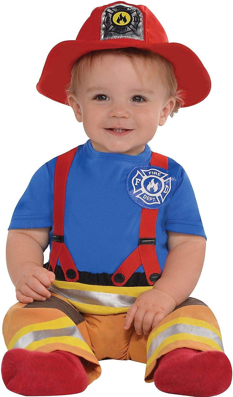 Amscan Babys First Fireman Halloween Costume