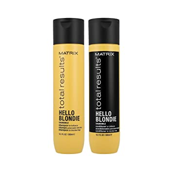 Matrix Total Results Hello Blondie Shampoo (300ml) and Conditioner (300ml)
