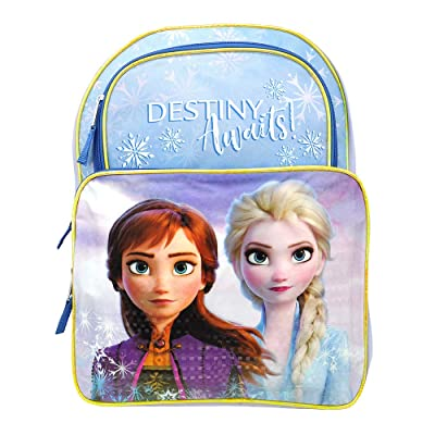 "Frozen 2 16"" Backpack with 1 Lower Front Pocket 