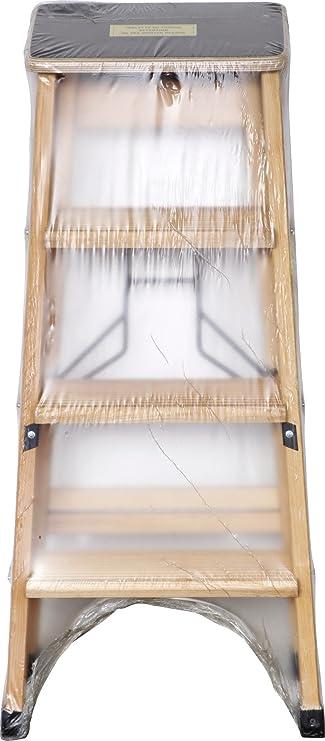 Outifrance 8831280 – Escalera Madera Profesional simple Plan de subida 7 peldaños con Tablet: Amazon.es: Bricolaje y herramientas