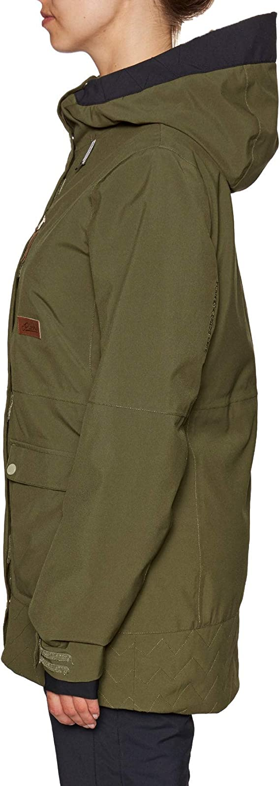 Army Green All Sizes Details about  /Planks All-time Insulated Womens Jacket Snowboard