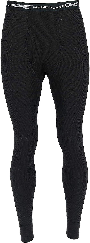 Hanes Men's Thermal Waffle Weave Pants (2 Pair Pack)