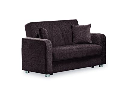 Amazon.com: Casamode Elegance (Joker) Loveseat Dark Brown ...
