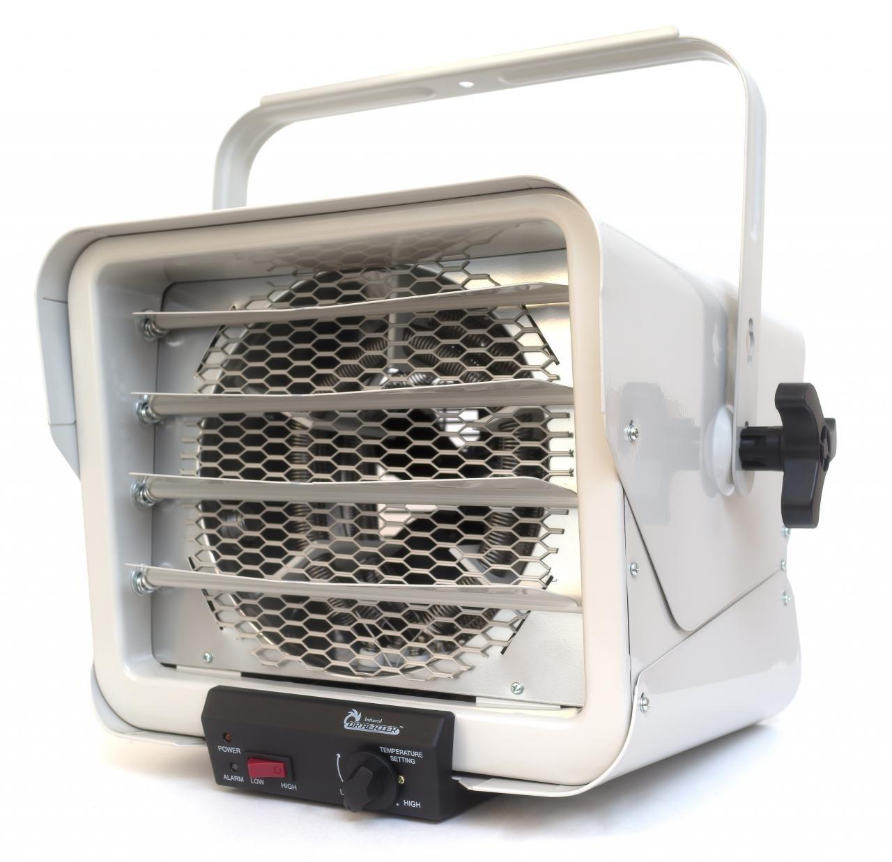 Dr. Heater DR966 240-volt Hardwired Shop Garage Commercial Heater, 3000-watt/6000-watt, DR966 240V by Dr Infrared Heater