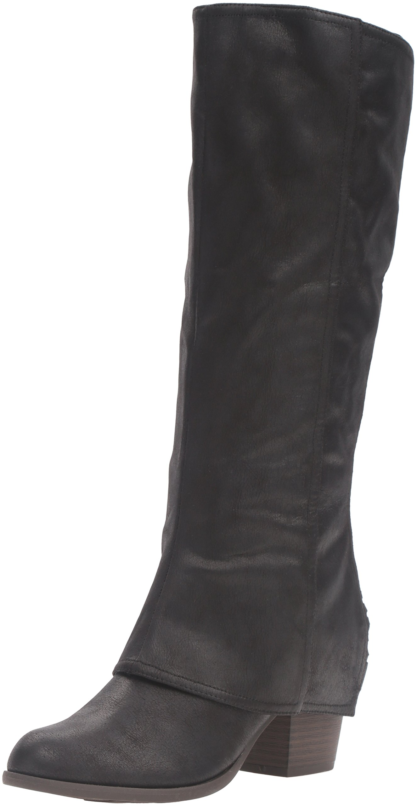 Fergalicious Women's Lundry Western Boot, Black, 8 M US