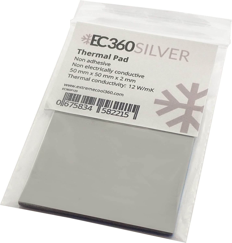 Ec360 Silver 12w Mk Wärmeleitpad 50 X 50 X 2 0 Mm