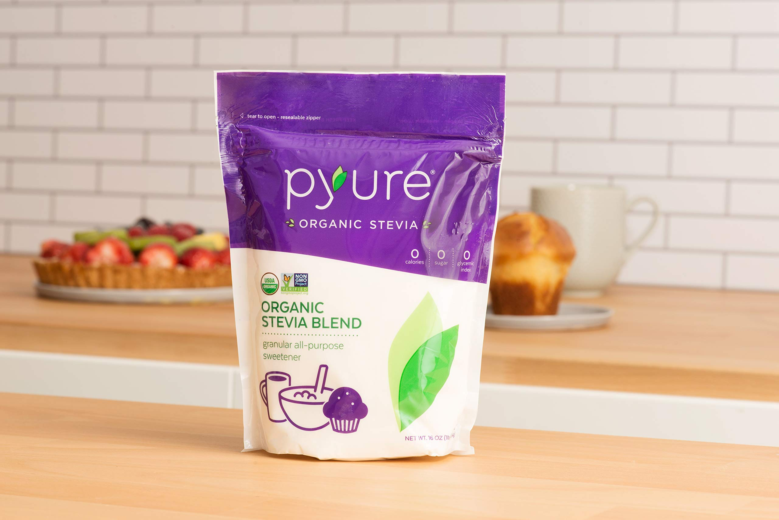 Pyure Organic All-Purpose Blend Stevia Sweetener, 1 lb (16 oz) by Pyure (Image #7)