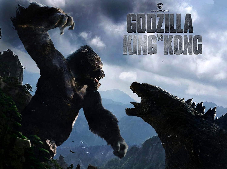 Amazon Com Newhorizon Godzilla Vs Kong 2020 Movie Poster 14 X 19 Not A Dvd Posters Prints