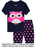 Amazon Price History for:Little Girls Pajamas 100% Cotton Short Mermaid Pjs Toddler Clothes Kids Shirts