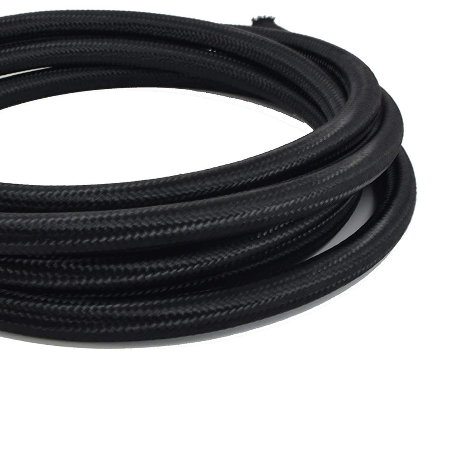 Oil 12AN Nylon Braided Hose for Fuel Coolant and Air 20 Feet Kraken Automotive