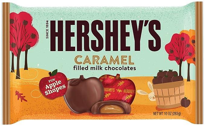 Hersheys Fall Harvest Caramel Filled Milk Chocolate, ...