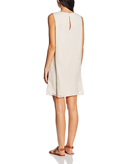 VILA CLOTHES Damen Kleid Vinias V-Neck Dress: Amazon.de: Bekleidung