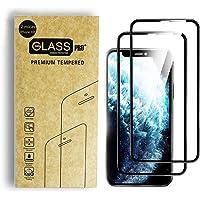 Simonetta Vespetti Paquete de 2 Micas de Vidrio Cristal Templado para iPhone XR Que Protege de Golpes y Rayones con…