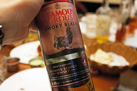 The Famous Grouse Smoky Black Escoces Peated Whisky, 40% - 700 ml