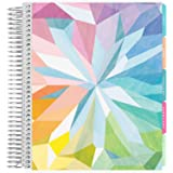 Erin Condren 12 - Month 2021 Coiled Life Planner (January - December 2021) - Kaleidoscope Colorful Cover, Vertical Weekly Lay