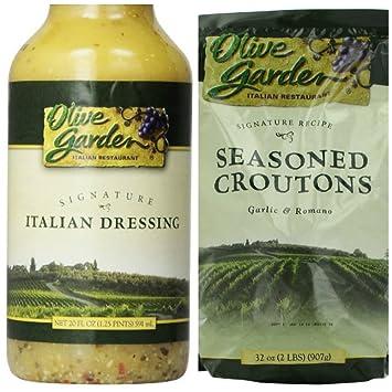 Amazon.com : Olive Garden 20 Oz Signature Salad Dressing (Pack of 2 ...