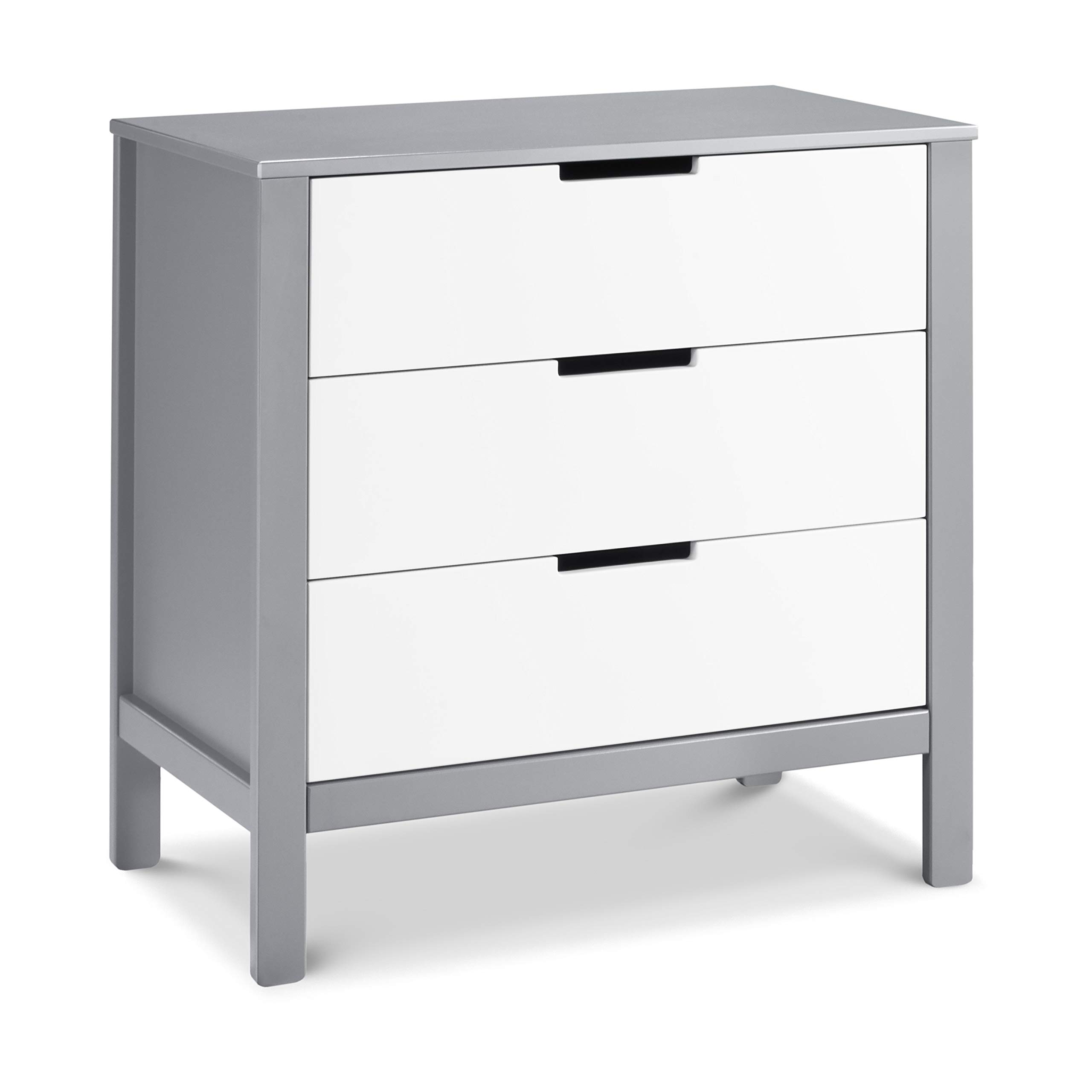 Carter's by DaVinci Colby 3-Drawer Dresser, Grey and White by Carter's by DaVinci