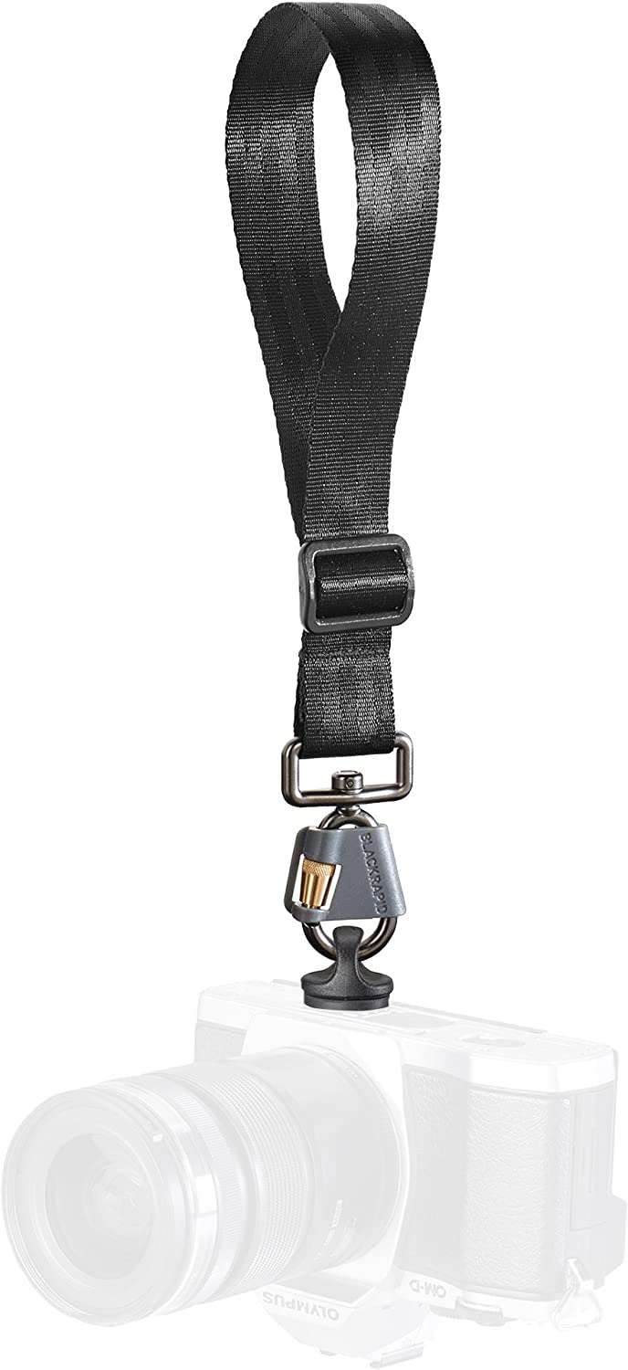 BlackRapid Camera Wrist Strap with FastenR FR-5 to Connect to Tripod Mount on DSLR, SLR and Mirrorless Cameras