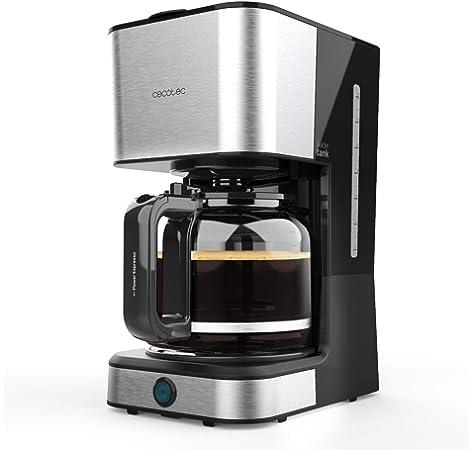 KYG Cafetera Goteo Máquina de Café con Temporizador Cafetera de Filtro Reutilizable y Función de Mantener Caliente Jarra de 1,80 Litros Acero Inoxidable 1000W: Amazon.es: Hogar