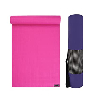 Estudio de Yoga Kit básico para Ligera - 6 mm, Pink - Purple ...