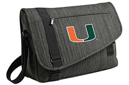 Amazon.com: Deluxe Universidad de Miami bolsa de computadora ...