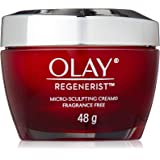 Olay Regenerist Micro-Sculpting Face Cream Moisturiser Fragrance Free 48g