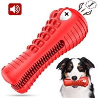 NOUGAT Dog Chew Toys for Aggressive Chewers Large Breed, Dog Teeth Cleaning Toys for Medium Large Dogs, Squeaky Dog Toys
