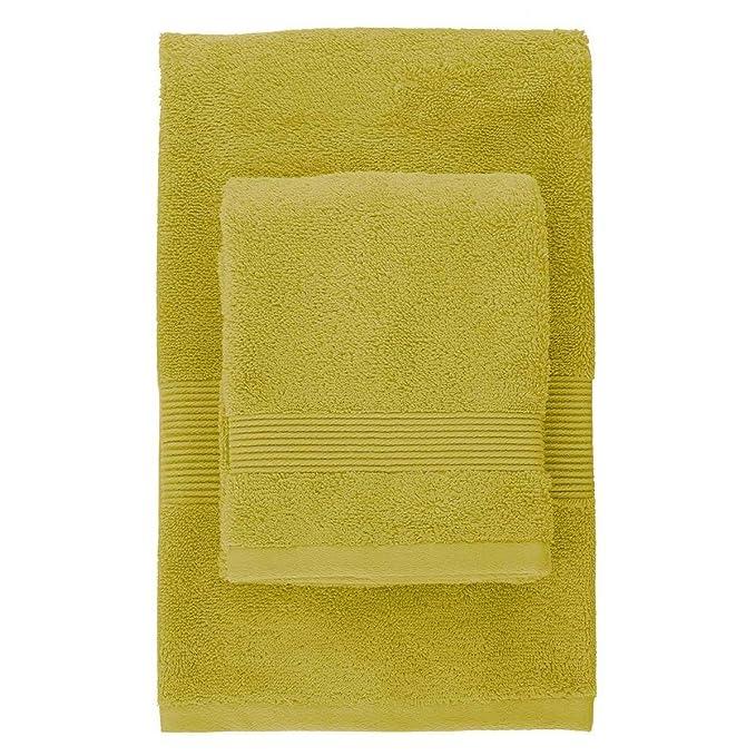 3 opinioni per Set Asciugamani 1+1 Zucchi Solotuo Lime