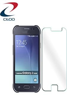 CEDO Anti Shatter Tempered Glass Screen Protector For Samsung Galaxy J1 Ace SM J110