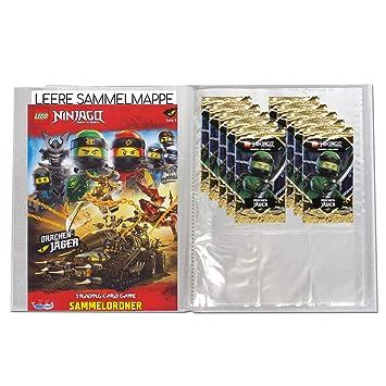 Blue Ocean Lego Ninjago Serie 4 Trading Cards - Carpeta con ...
