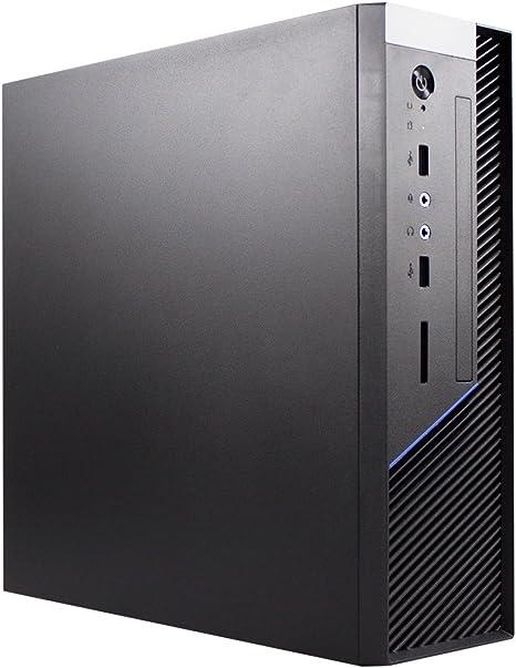 UNYKAch Caviar 1K Torre Negro Mini DTX/ITX - Caja de Ordenador (Torre, PC, SGCC, Negro, ITX, 6 cm): Amazon.es: Informática