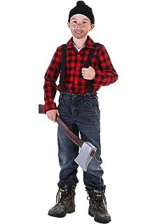 Amazon.com: Disfraz de leñador para niño: Toys & Games